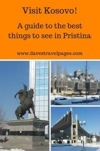A guide to what to see in Pristina, Kosovo