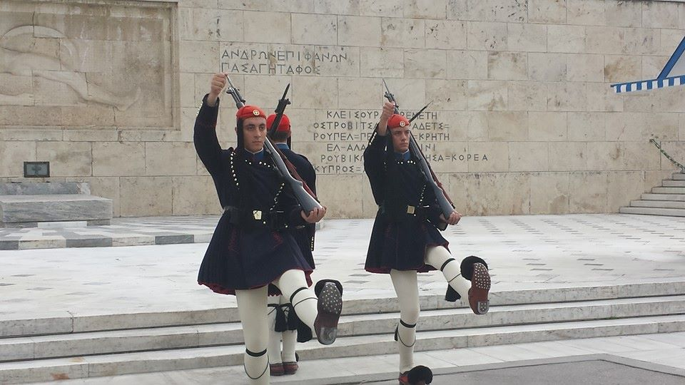 The Changing of the Guards in Athens
