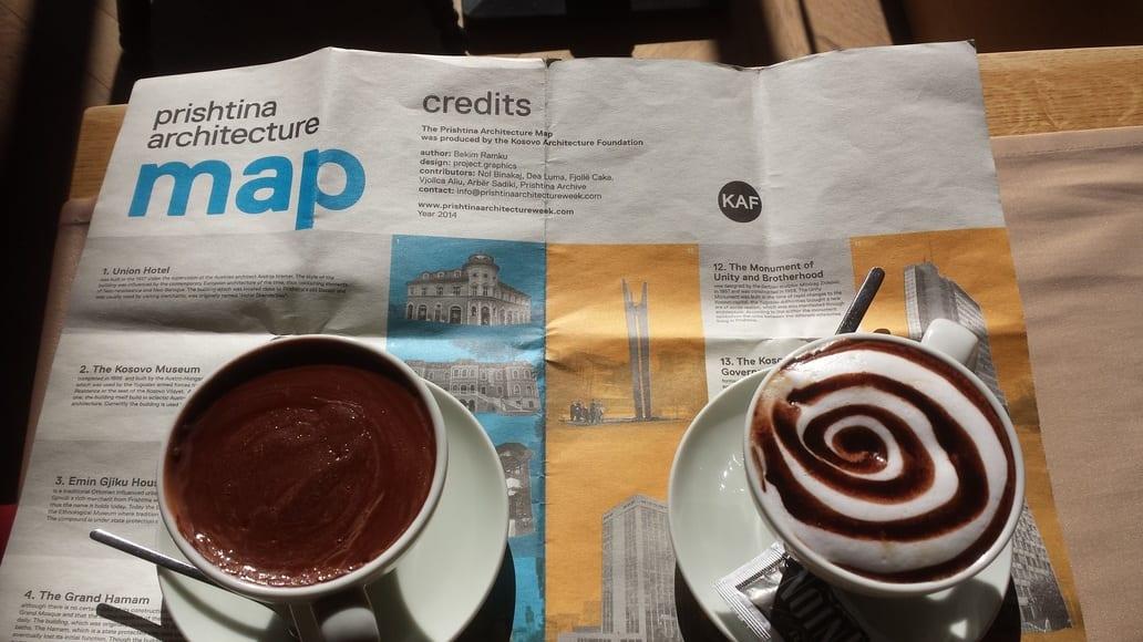 coffee in Pristina