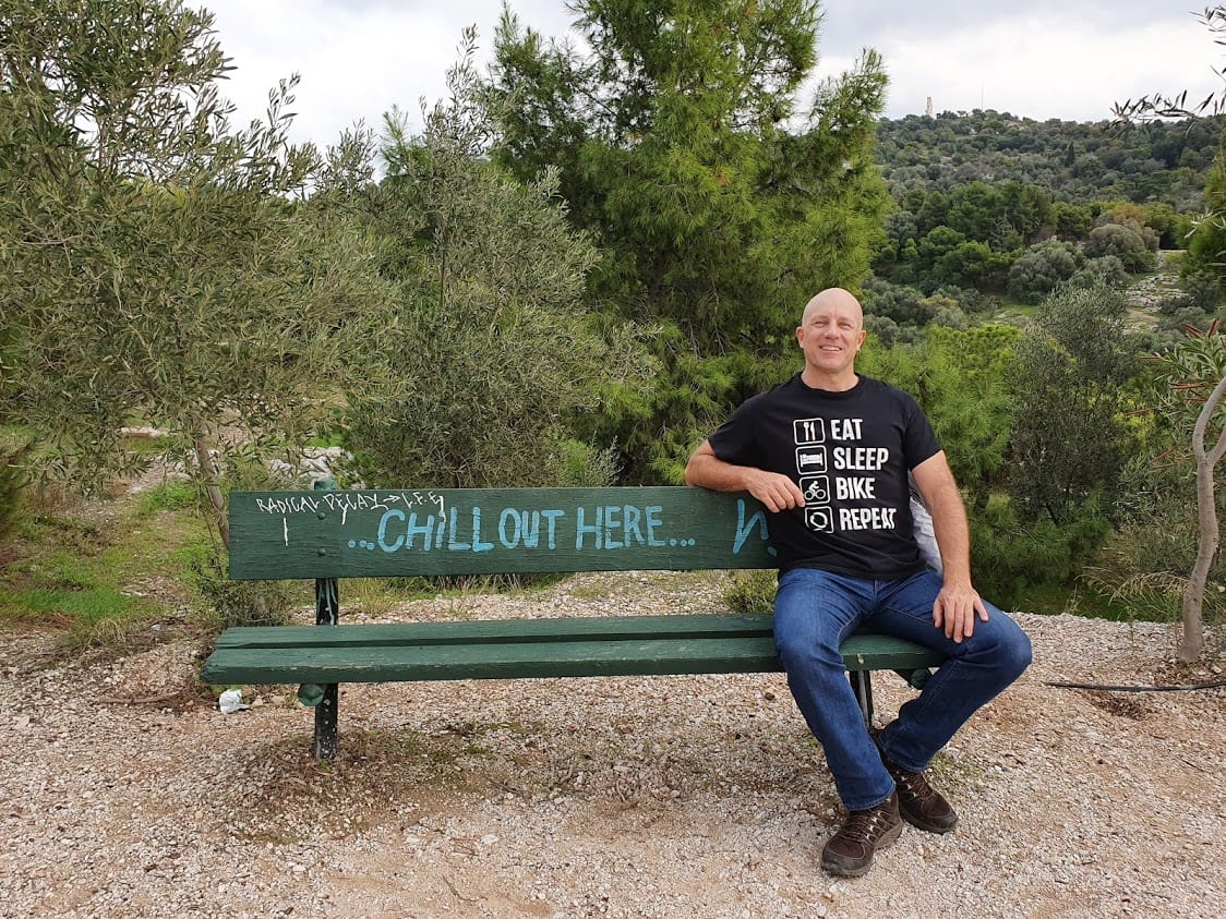 Dave Briggs in Athens Greece