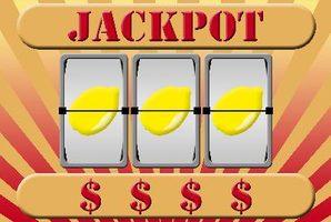 Slot machine 3 lemons