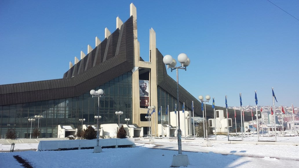 Pristina tourist attractions - The youth and sports palace