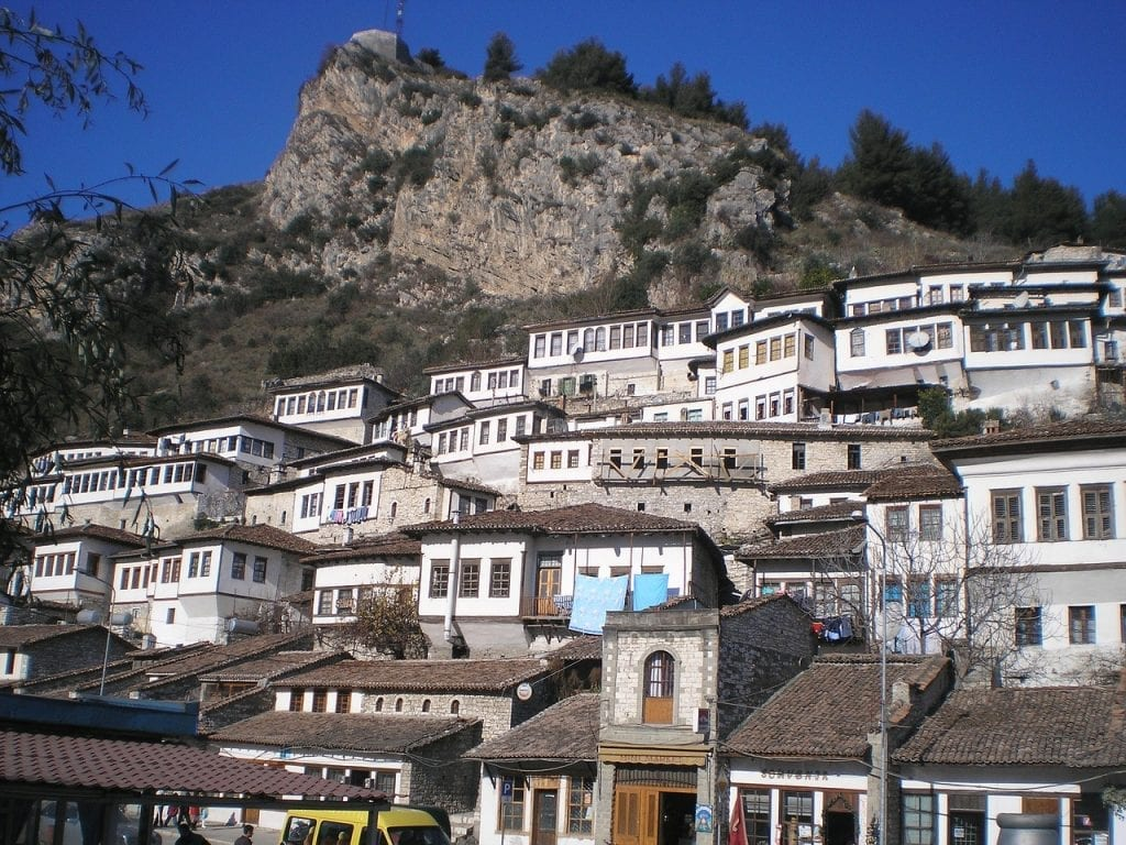 The town of a thousand windows - Berat, Albania