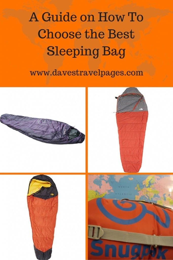 A guide on how to choose the best sleeping bag. Should you buy a down or synthetic sleeping bag? Is weight important? All these questions and more are answered in this great guide.