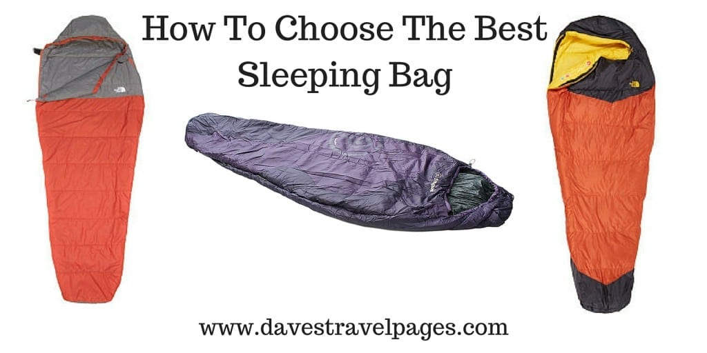 How to choose the best sleeping bag for a bicycle tour