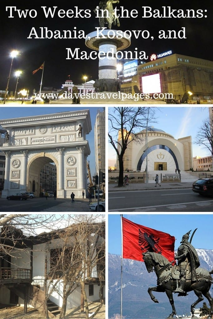 Two weeks in the Balkans: A Guide to Albania, Kosovo, and Macedonia.