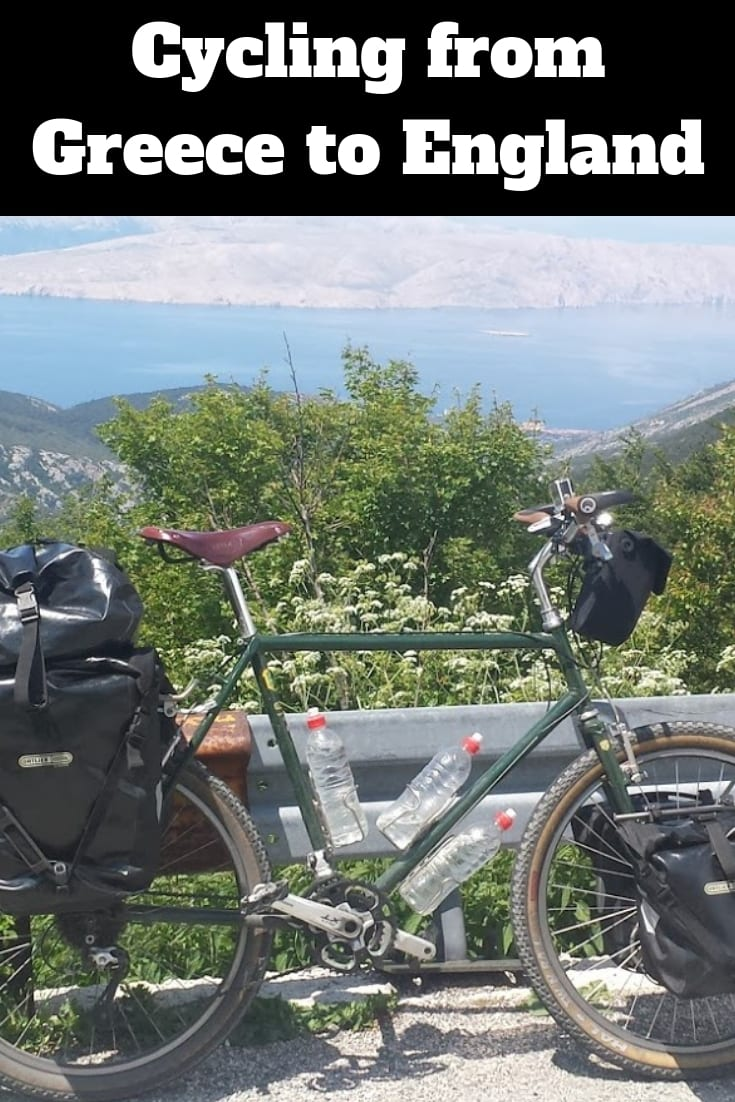 Cycling from Greece to England. Read the full article to find out more about this bicycle touring adventure.