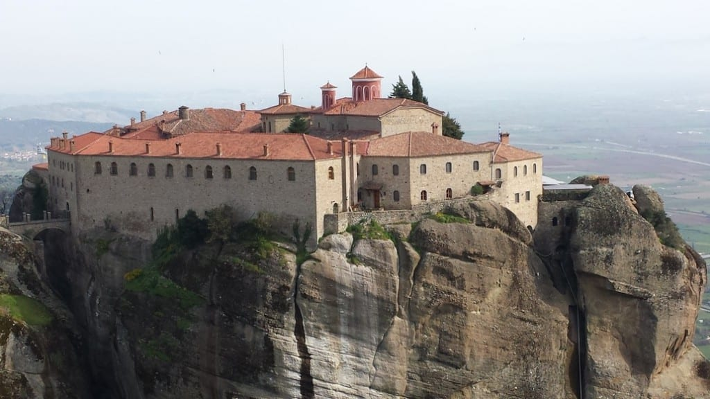 Visiting the Meteora monasteries before taking a tour in Meteora at sunset