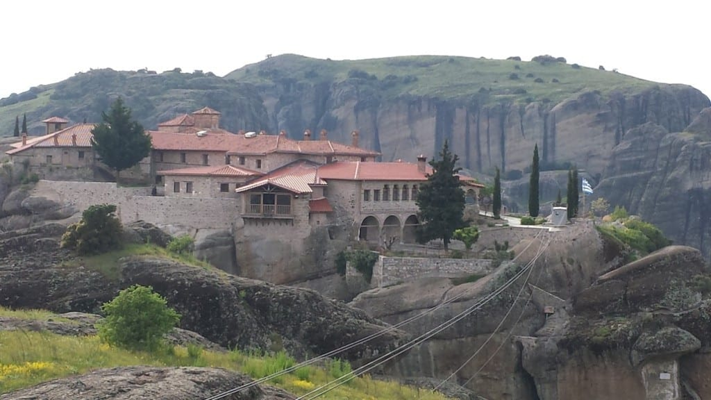 Meteora is one of the most beautiful places in Greece.