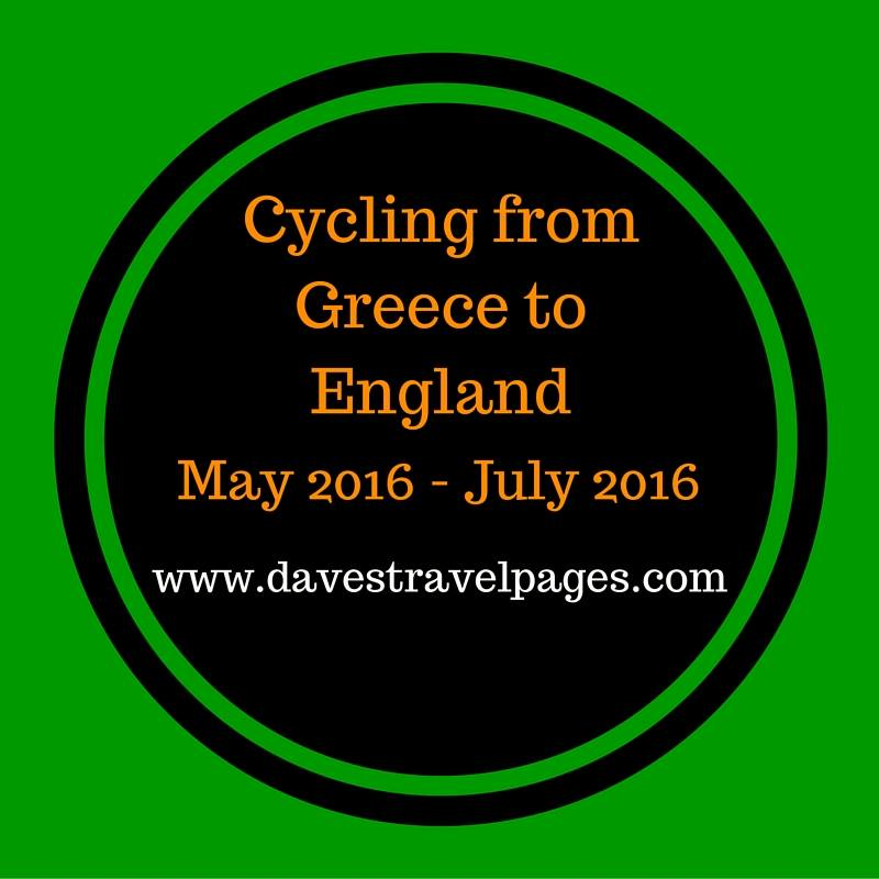 Cycling from Greece to England - Bicycle touring 2016