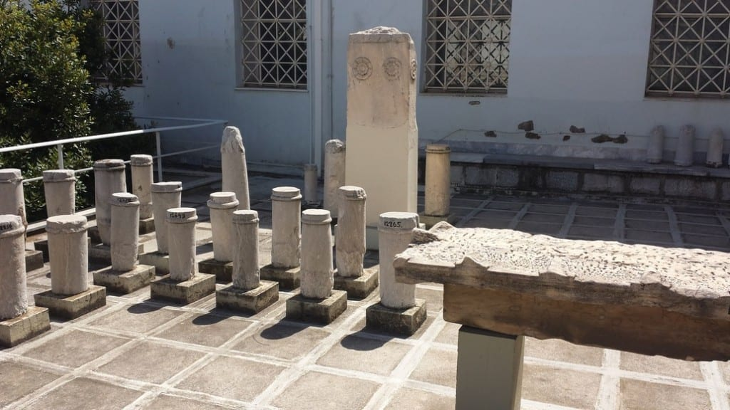 The Epigraphical Museum in Athens