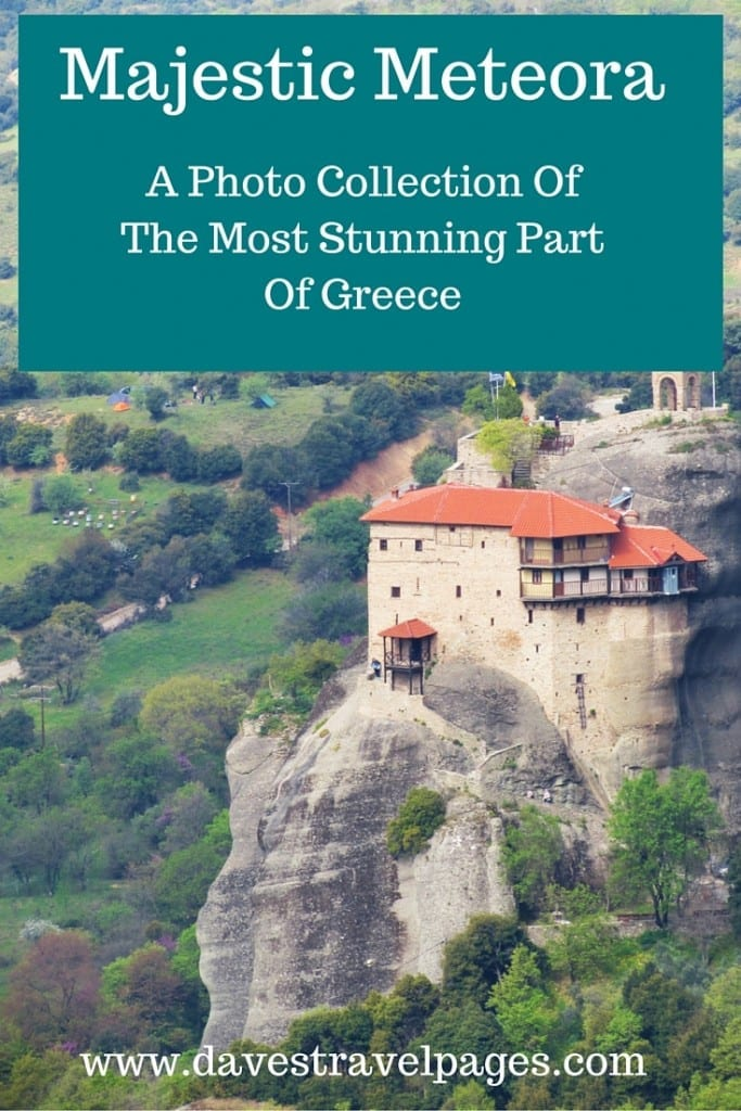 Majestic Meteora - A photo collection of the most stunning part of Greece. These beautiful photos really capture the magical essence of Meteora.