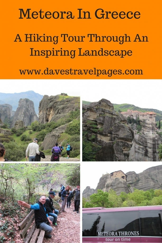 Seen from a distance, Meteora in Greece has a truly fascinating landscape. By taking a Meteora hiking tour, you can get up close and personal, and experience it from a different perspective. Read the full article for some stunning photos.
