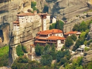 Majestic Meteora Monastery Photos. Meteora is one of the most beautiful places in Greece