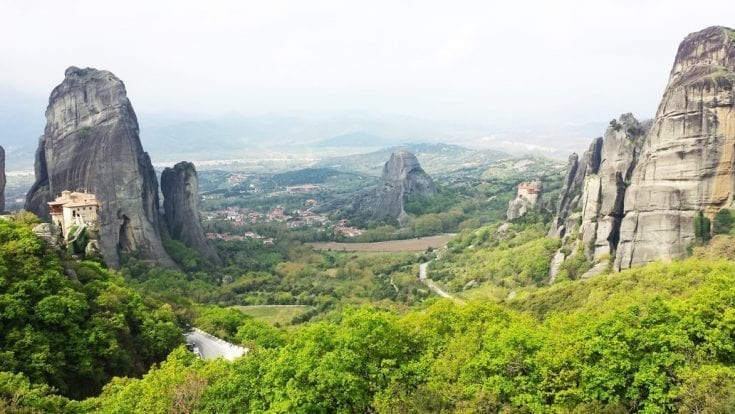 Majestic Meteora Photos