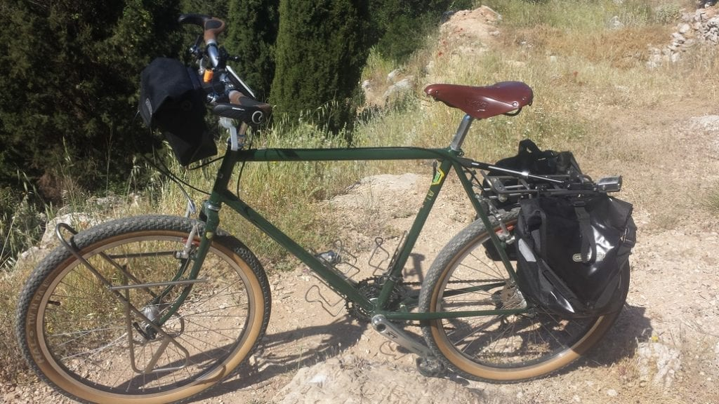 The Stanforth Kibo+ bike is ideal for bicycle touring around the world