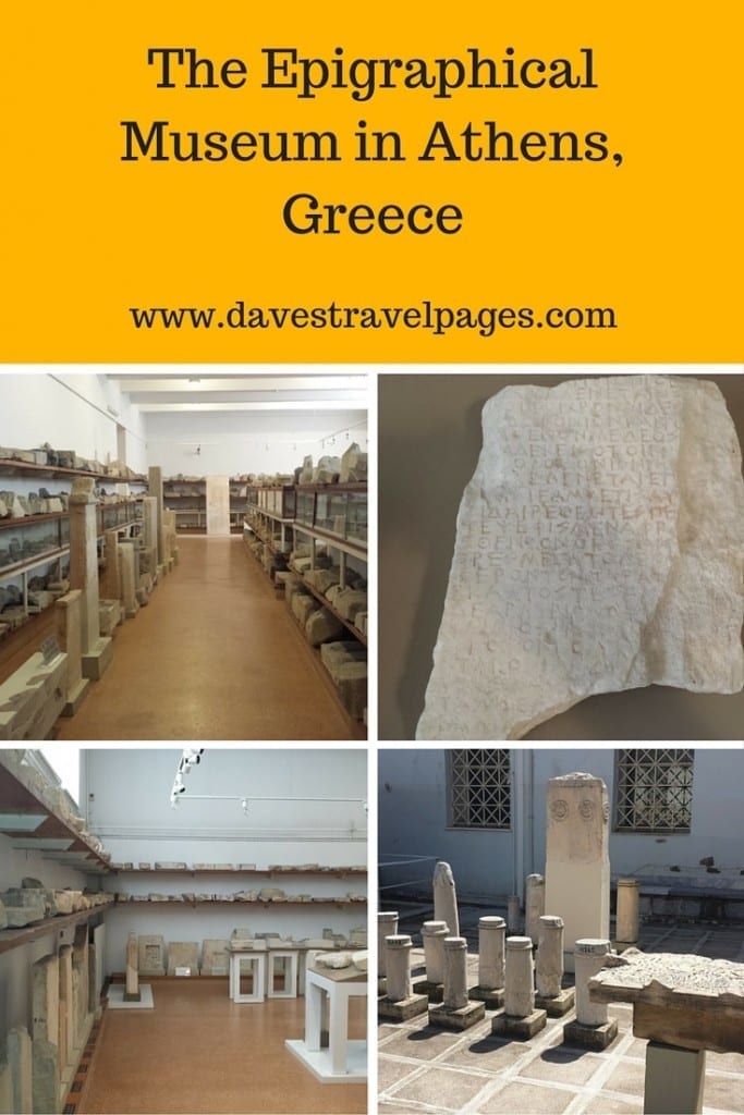 The Epigraphical Museum in Athens is a very specialised museum, which is unlikely to appeal to most tourists or even locals. As part of my project to visit every museum in Athens though, I of course had to see what it was all about! Here's what I thought...