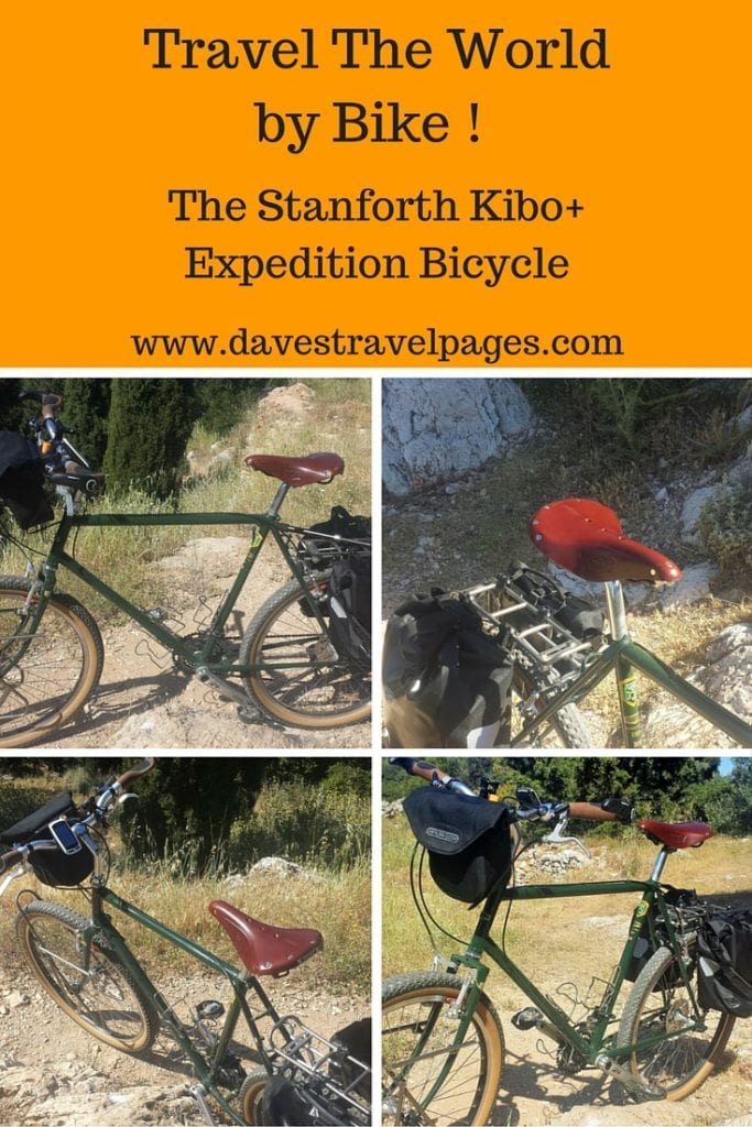 Travel the world by bike on the Stanforth Kibo+ Expedition Bicycle. Are you looking for a suitable bike for bicycle touring? The Stanforth Kibo+ could be just what you need.