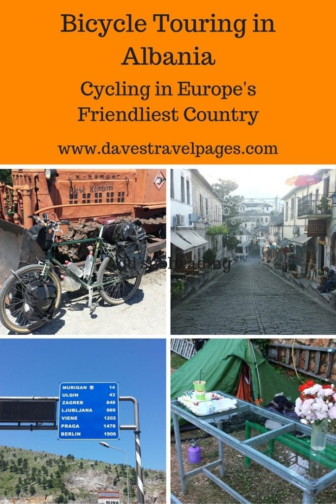 Bicycle touring in Albania - Cycling in Europe's friendliest country