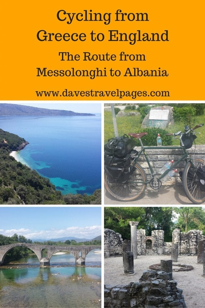 In May 2016, I started cycling from Greece to England. This blog post covers cycling in Greece from the town of Messolonghi to Ksamil, which is just over the border in Albania. Plenty of photos, vlogs, and route maps inside!