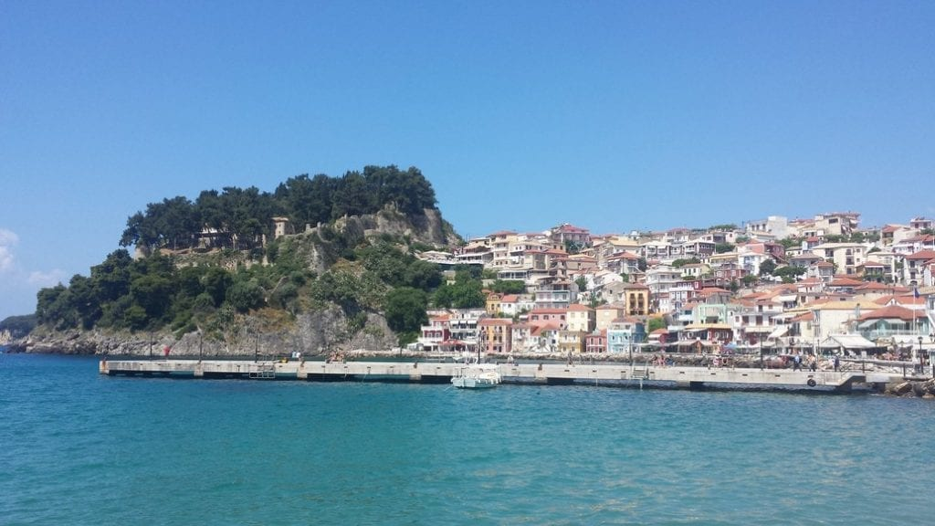 The coastal town of Parga in Greece
