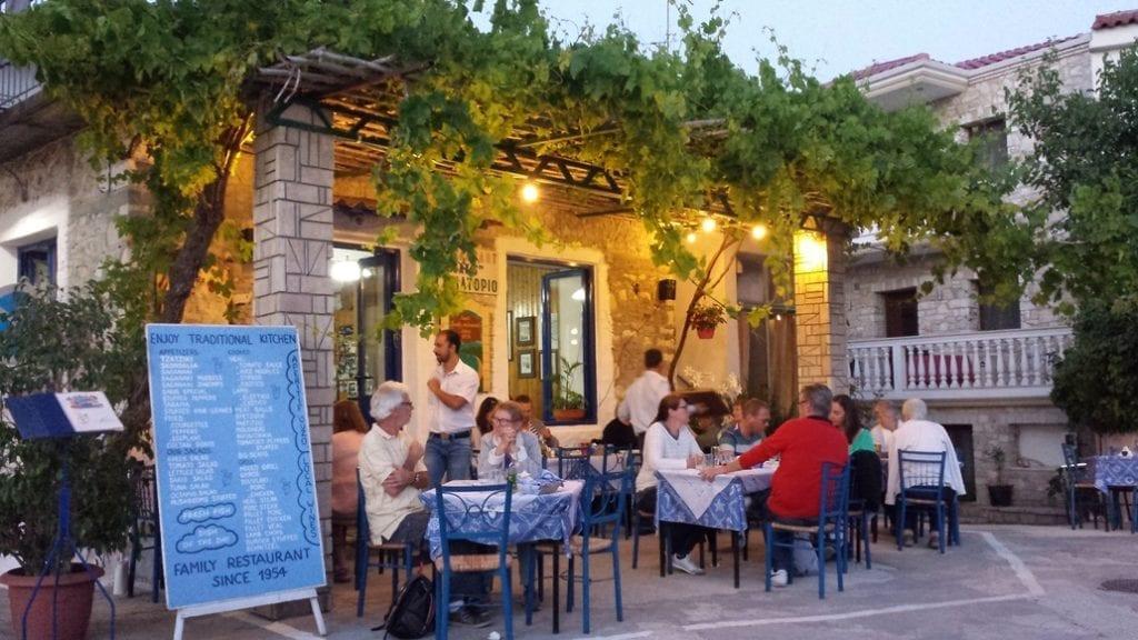 Sakis Restaurant in Parga Greece