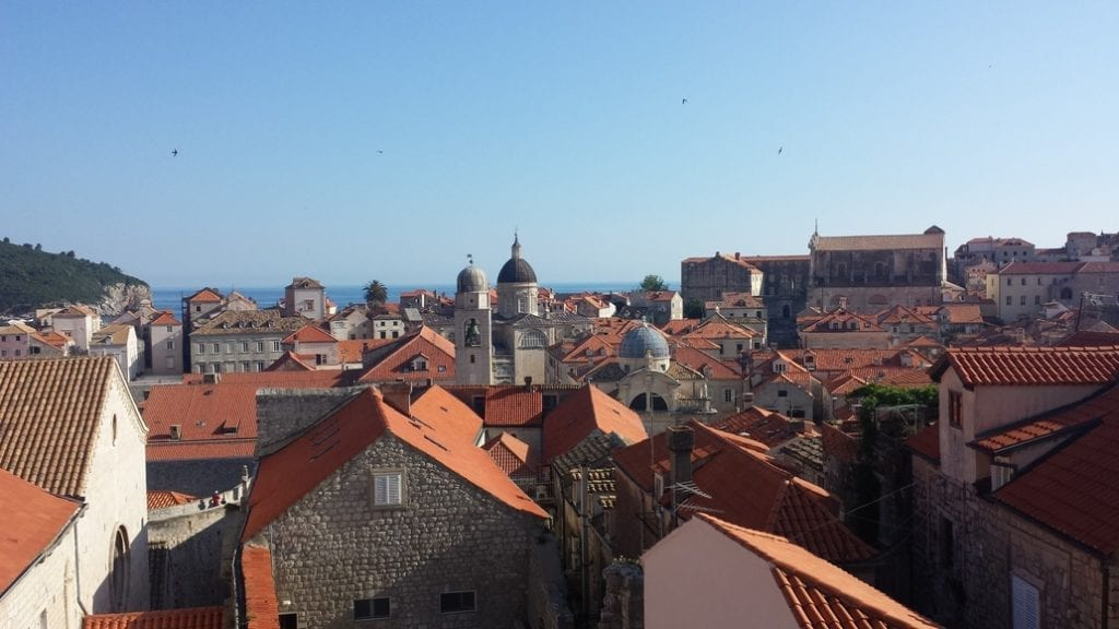 A view out over Dubrovnik - The Pearl of the Adriatic