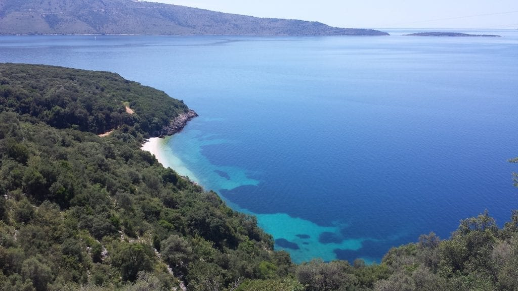 One of the best things about cycling in Greece, is the stunning scenery