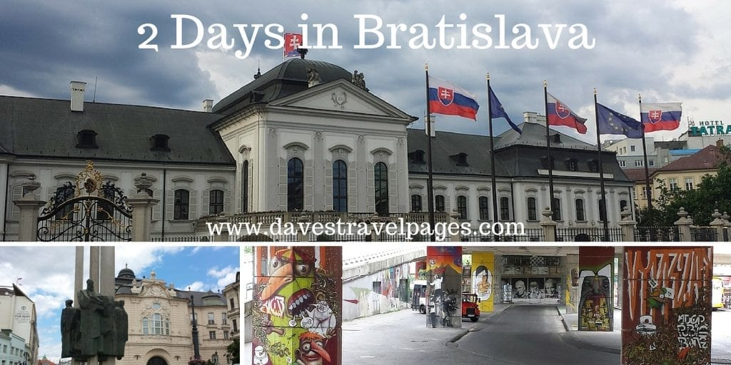 2 Days in Bratislava. What to see and do in 48 hours in Bratislava, the capital city of Slovakia.