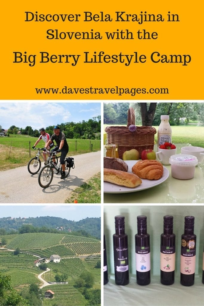 Discover the Bela Krajina region of Slovenia with the Big Berry Lifestyle Camp. Read the full article for more photos and information about the most beautiful area in Slovenia!