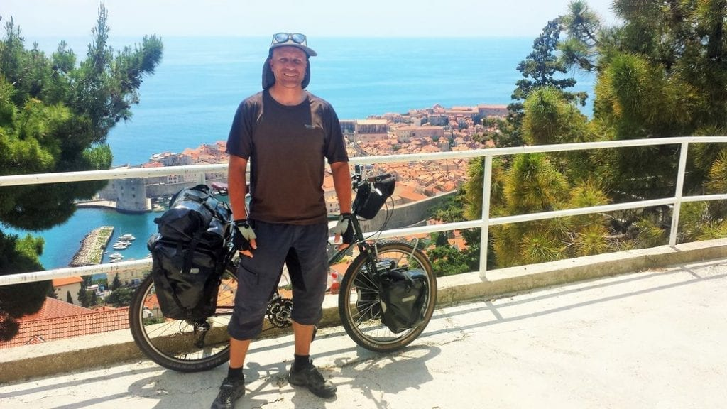 When cycling in Croatia, you are always rewarded with stunning views for your hard work!