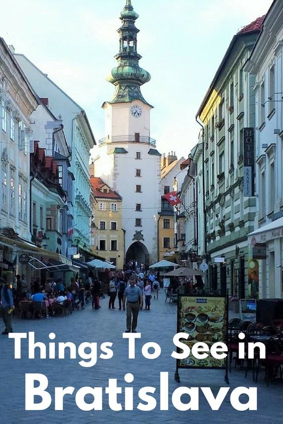 Top things to see in Bratislava