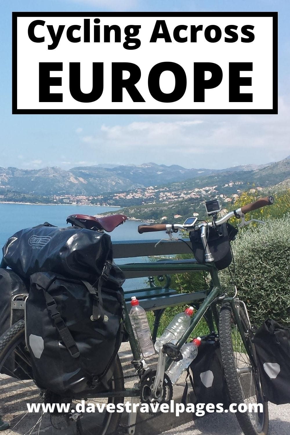 Bike Touring Across Europe: A summary of my latest bicycle tour, which involved cycling across Europe. Starting in Greece, I spent two and a half months riding through 11 European countries to my final destination in England. Interested in finding out what I got up to when cycling across Europe? Please read the full article for more!