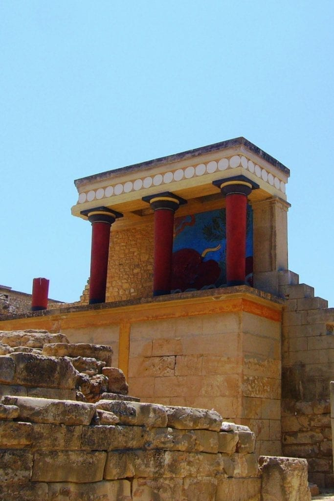 Visit Knossos in Crete and see where the myth of the Minotaur and the Labyrinth was born!