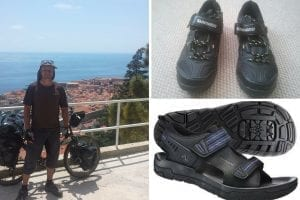 Bicycle Touring Shoes and Travel Shoes for Bike Touring