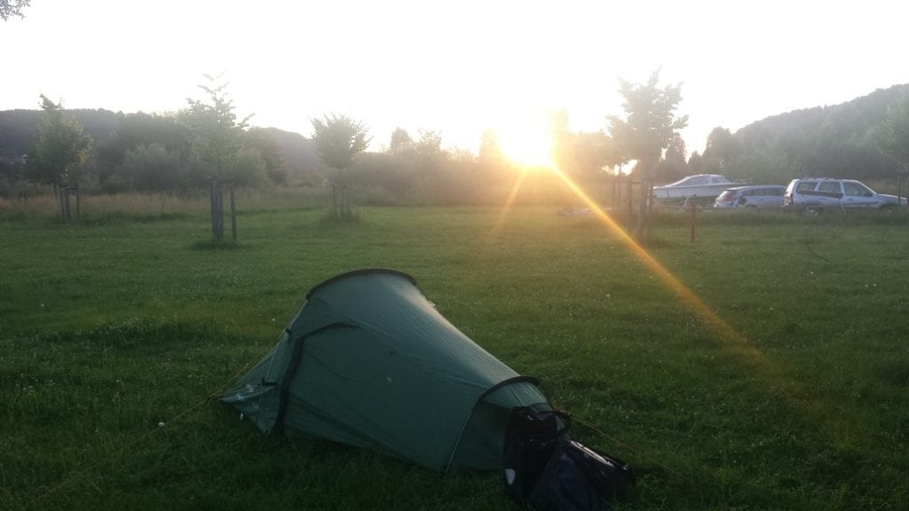 Cheap camping in France certainly helped with my travel budget