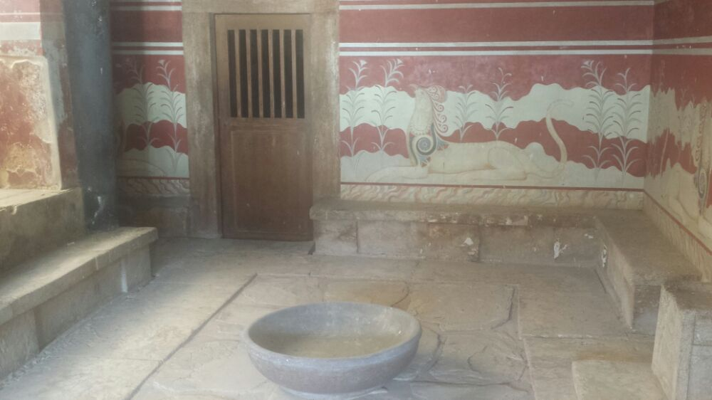 A Knossos tour will reveal just how advanced the bronze age Minoan civilisation on Crete was