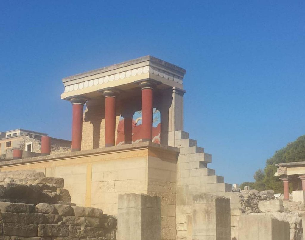 The Palace of Knossos in Crete - Things to do in Crete