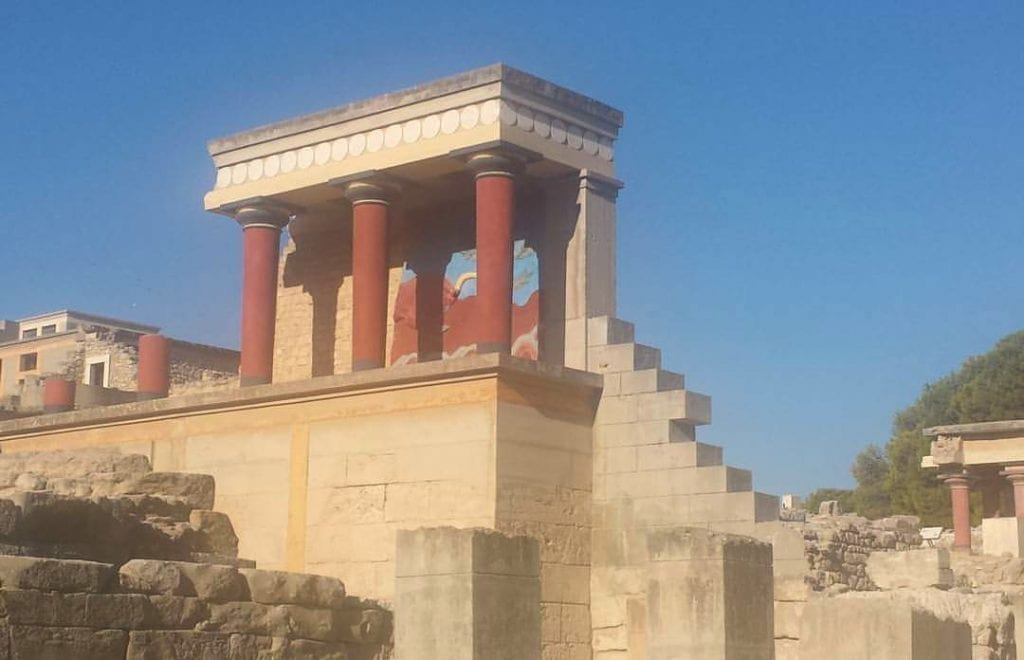The Palace of Knossos is always high on the list of things to do in Crete.