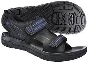 Shimano SPD Sandals make great bicycle touring shoes