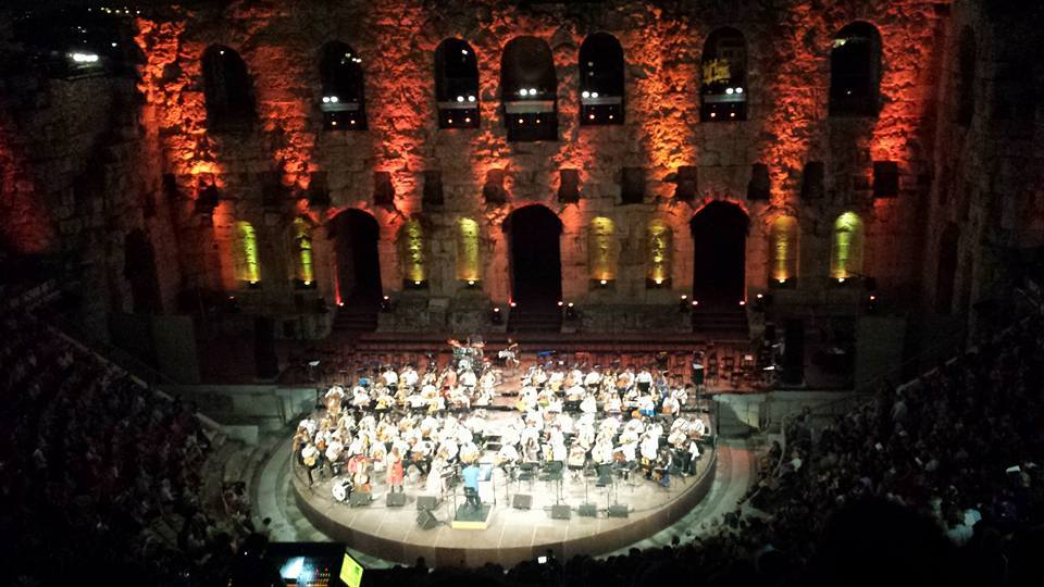 Athens in September can be a fascinating city. This classical guitar concert at the Herodion will be hard to beat!