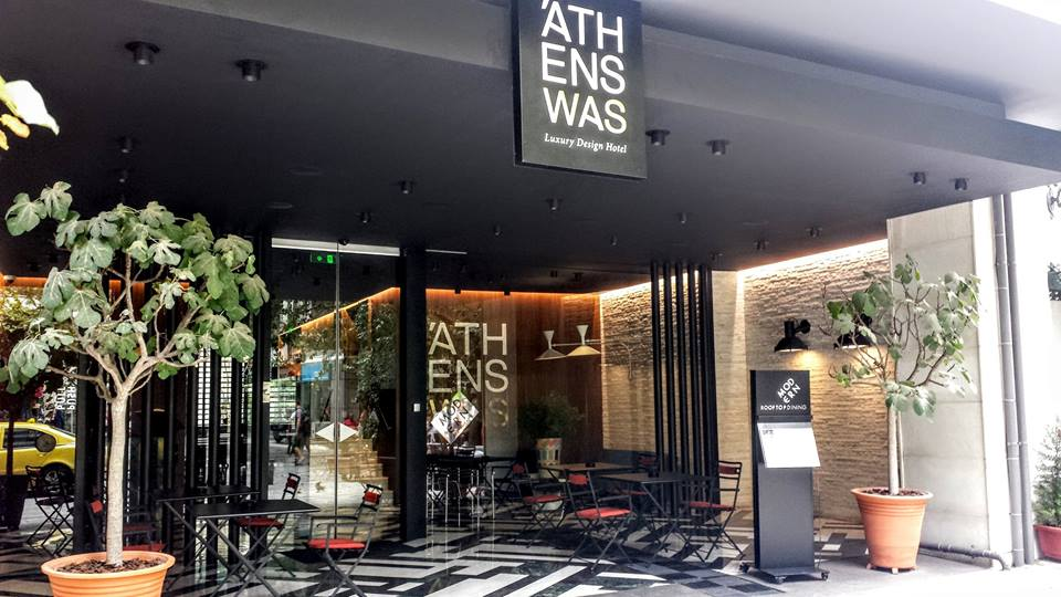 The AthensWas Hotel near the Acropolis in Athens, Greece
