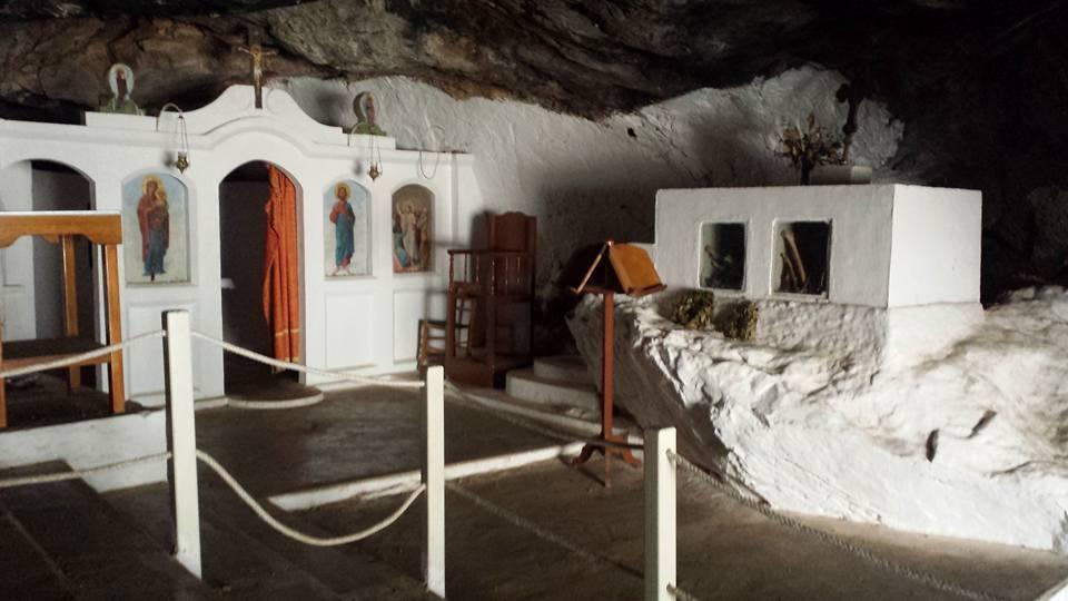 Milatos cave in Crete