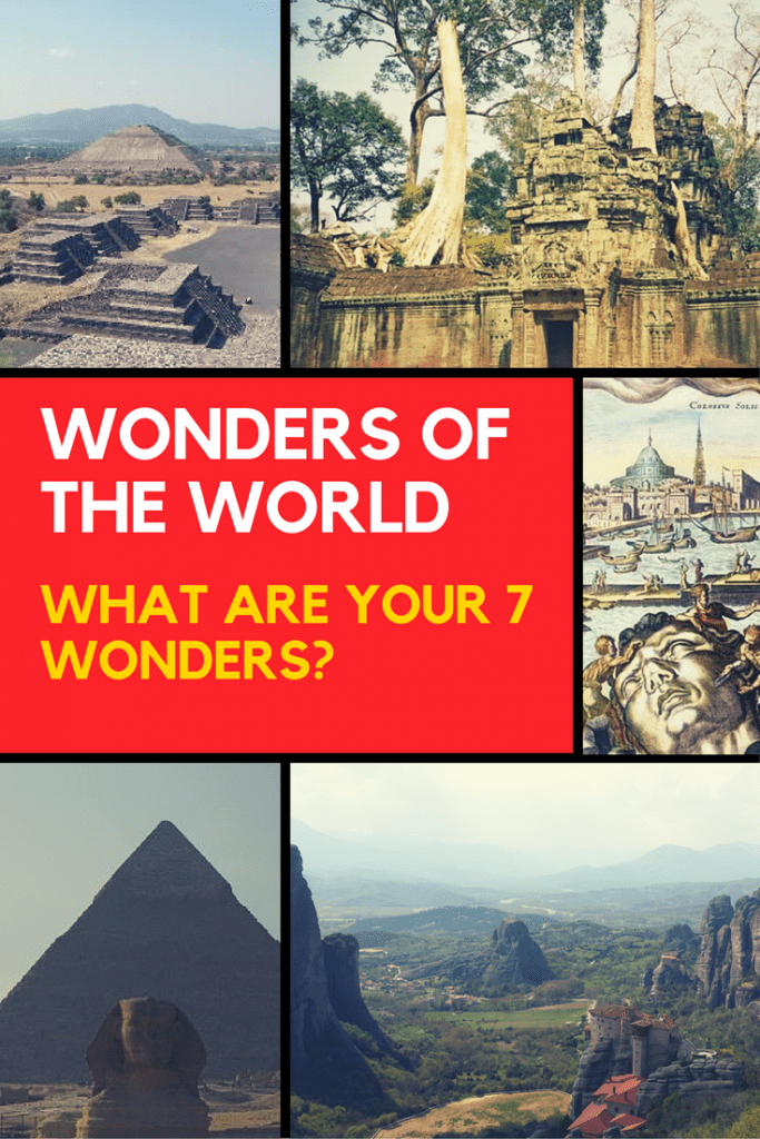 The origin of the 7 wonders of the world dates back over 2000 years. Find out about Ancient Greek travel guidebooks, and my personal 7 wonders of the world.