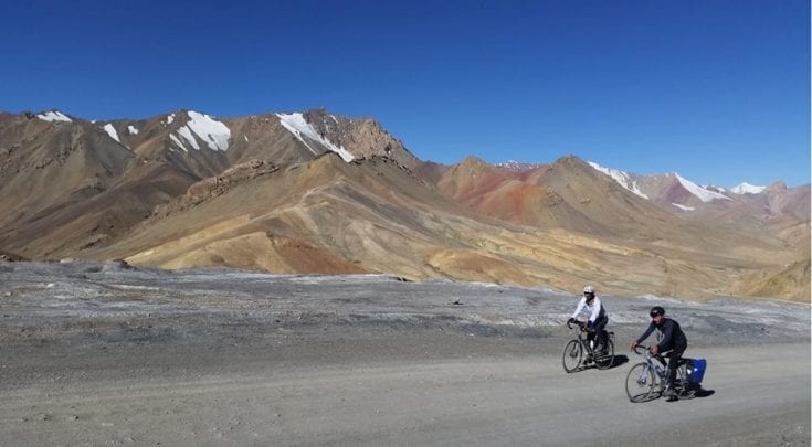 Cycling the Beijing to Tehran Silk Road Route | Bicycle Touring Stories