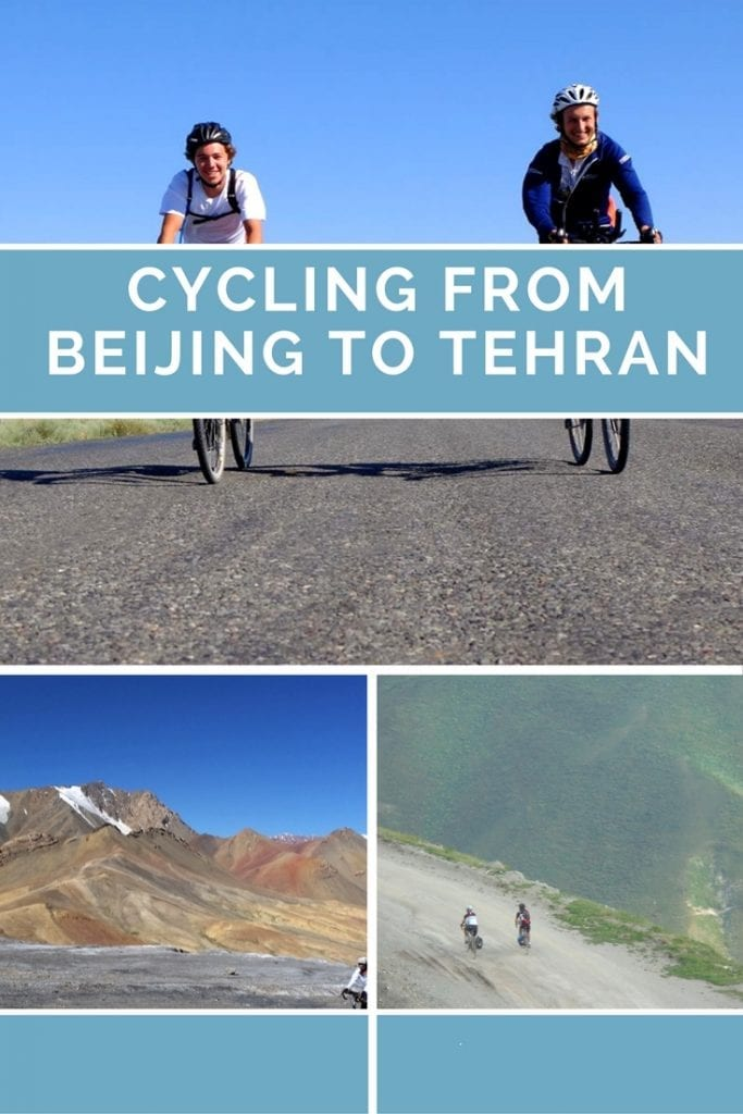 An interview with Charles and Will, who are perhpas the youngest people to cycle from Beijing to Tehran.