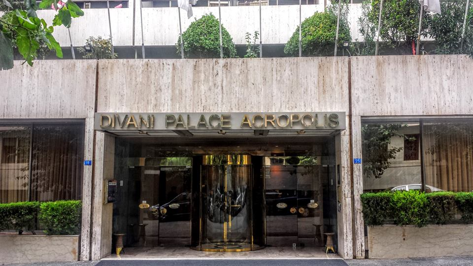 Divani Palace Acropolis Hotel in Athens