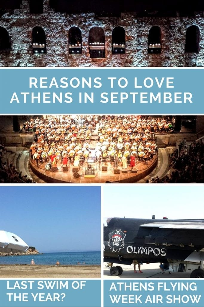 Reasons to love Athens in September