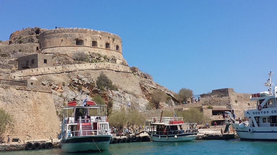 Spinalonga island is another of the Greek landmarks you can get to from Crete