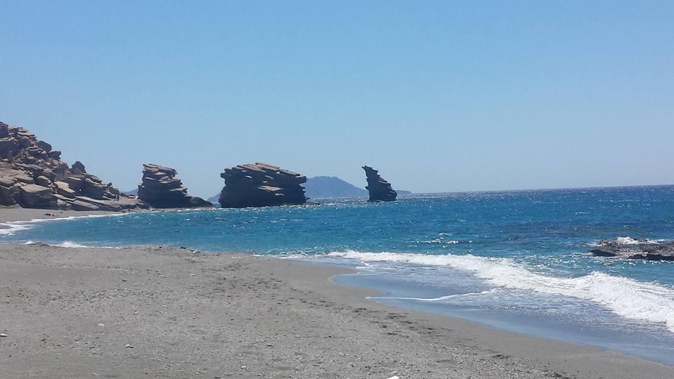 Triopetra beach in Crete